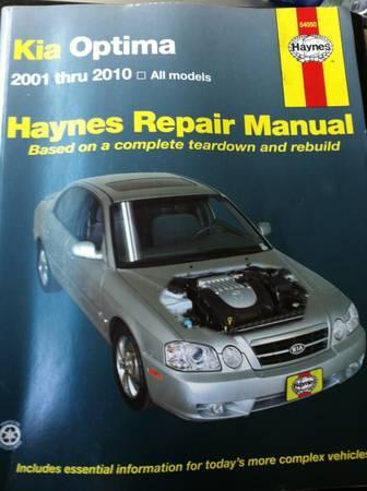 kia optima repair manual for sale in wheeling west virginia rh wheeling wv americanlisted com Kia Optima Manual Transmission Kia Optima Manual Transmission