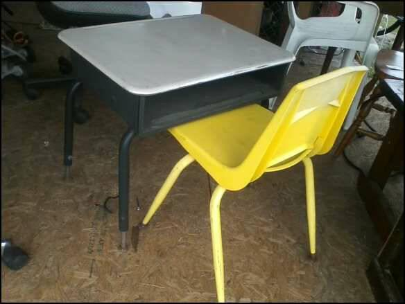 kid sized old school desks chairs combos for sale in folkston