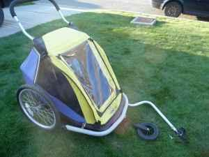 Kidarooz 2 In 1 Bicycle Trailer Stroller Cashmere Wa For