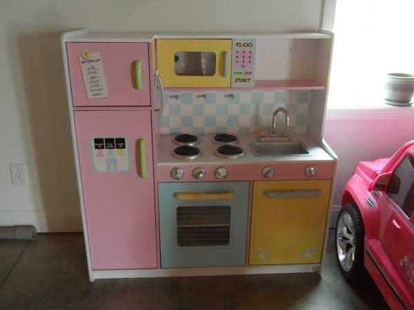 kidkraft girls wooden kitchen playset for sale in pulaski virginia - Kitchen Playset