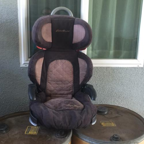 Kids booster seat with back.