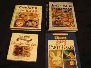 Kids Cookbooks - $8