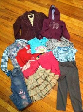 KIDS GIRLS CLOTHING LOT - Sizes: SMALL 5/6 *Name brand