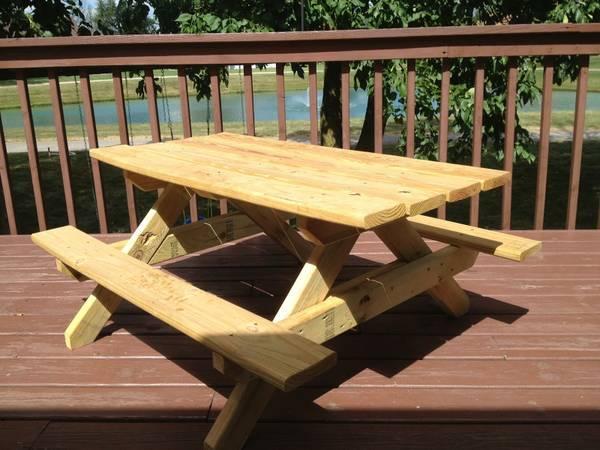 Kids Picnic Table For Sale In Saginaw Michigan Classified - Picnic table michigan