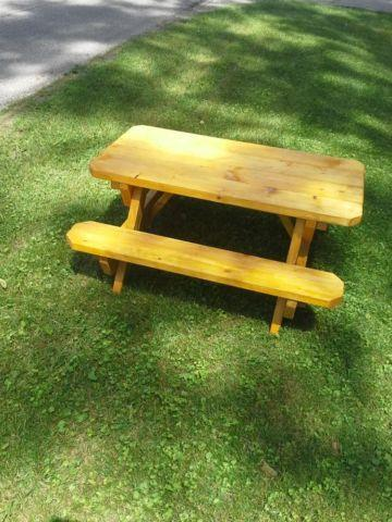 Kids picnic table for sale in eden indiana classified for 10 person picnic table