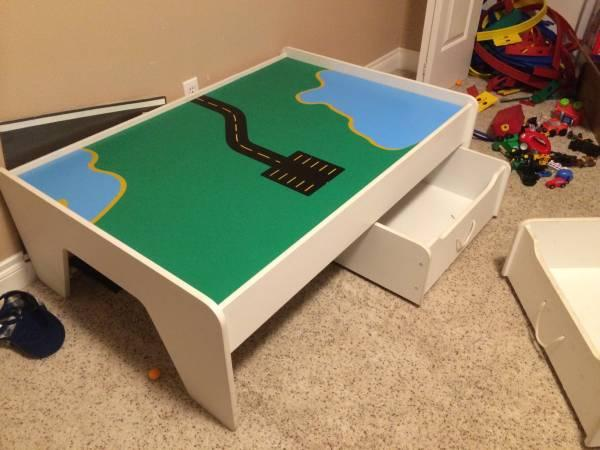 Kids Play Table Storage Too For Sale In Chugiak Alaska