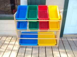Kids Toy Storage Shelf Bins 15 Chino Valley