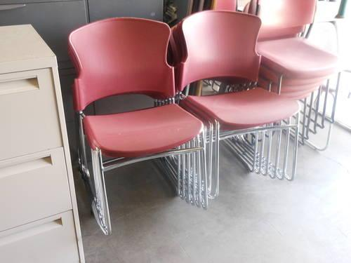Kimball Bingo chairs - office furniture