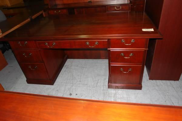 Kimball Desk And Credenza Set For Sale In Antioch