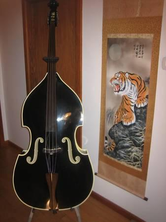 king doublebass slap king upright bass rockabilly for sale in bloomington indiana. Black Bedroom Furniture Sets. Home Design Ideas
