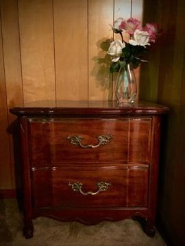 King Headboard Nightstands Beautiful Cherry Wood For Sale In Baton Rouge Louisiana