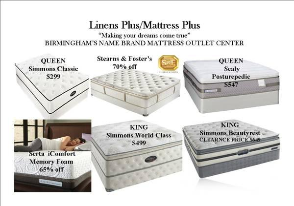 King Mattresses 399 Sealy Simmons
