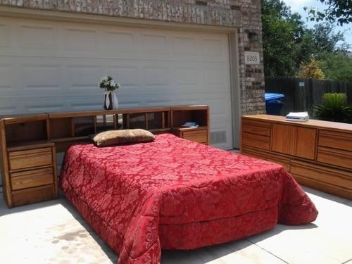 king queen bedroom suit blackhawk furniture for sale in san antonio