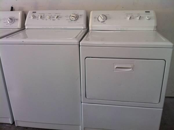 King Size Capacity Kenmore Elite Washer Amp Dryer Electric Set