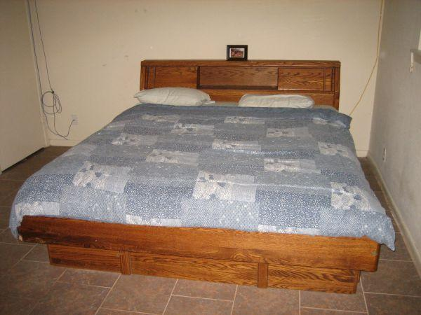 King size converted waterbed - (SW Houston (Stafford)) for ...