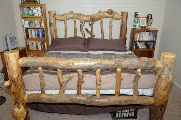 King Size Designer Aspen Log Bed Provo For Sale In Provo Utah Classified