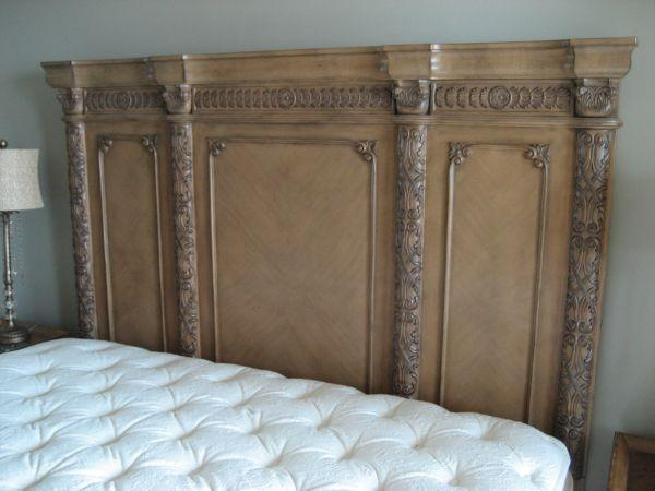 king size headboard east beach area for sale in galveston texas classified. Black Bedroom Furniture Sets. Home Design Ideas