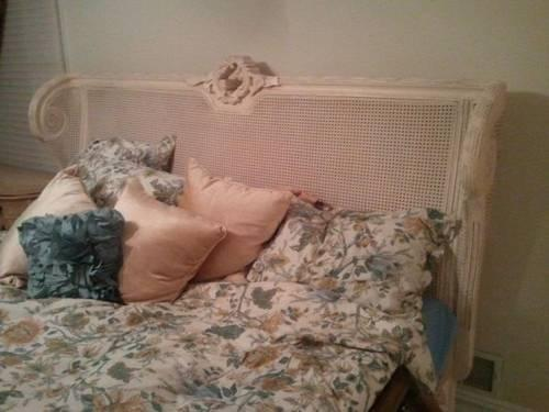 King Size Headboard Footboard And Rails And Or