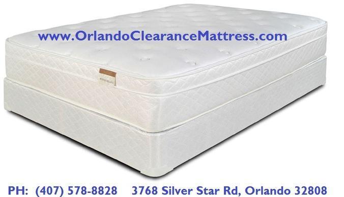 king size thick plushtop mattress set new new