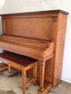 Kingsbury Antique Upright Piano 1915 1920 For Sale In