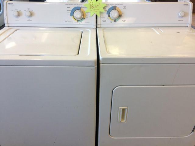 Kirkland Signature Washer Amp Dryer Set Pair Used For