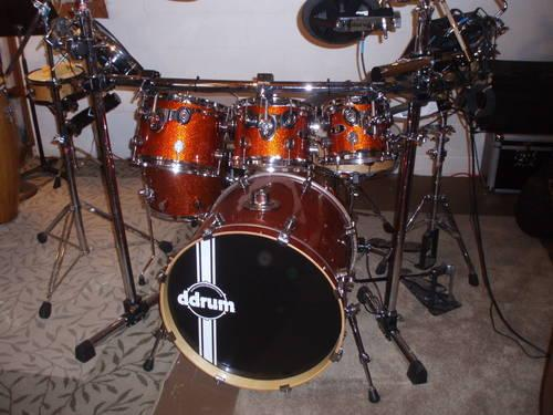 Drums Pdpx7 Kit With Roland Td 12 Sound Module For Sale In