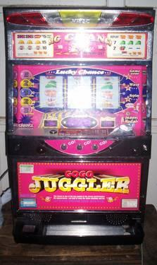 Kitac Token Slot Machine Push Button Stop Quot Go Go Juggler Quot For Sale In Hamiter Arkansas
