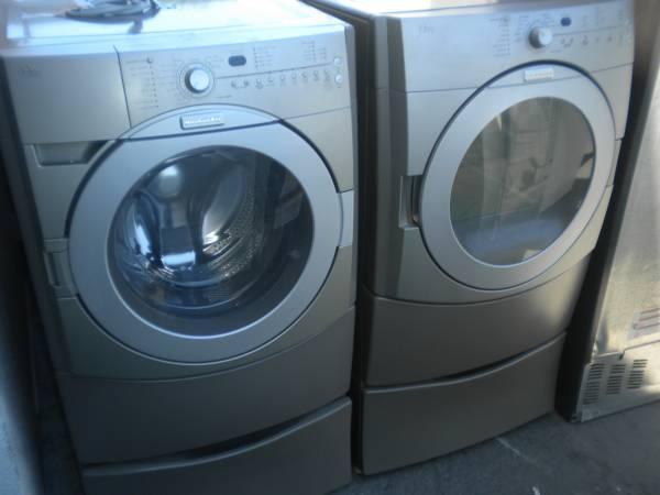 Kitchenaid Front Load Washer kitchen aid front load w/d gas = free del ins - for sale in santa