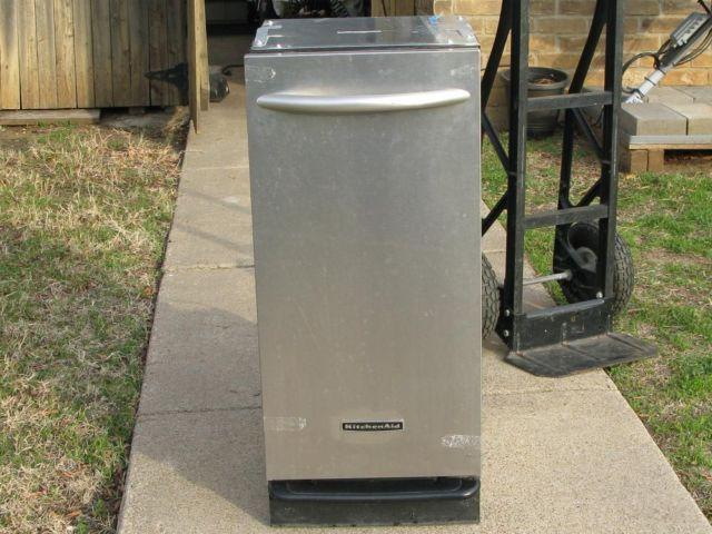 KItchen aid trash compactor stainless is Very good shape ...