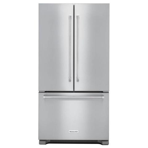 KitchenAid French Door Counter Depth Refrigerator Stainless Steel