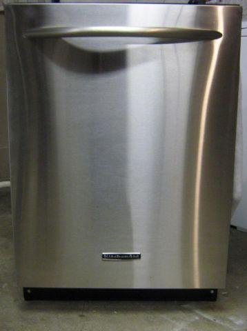 KITCHENAID FULL STAINLESS STEEL HIGH TEMP DISHWASHER WITH WARRANTY for