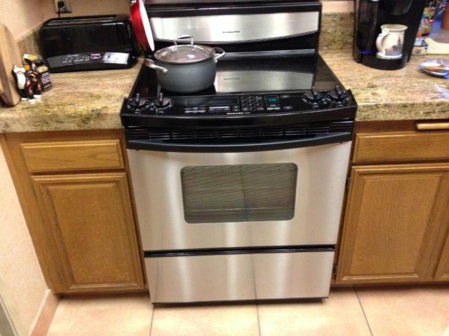 kitchenaid glass top electric stove for sale in san jose california