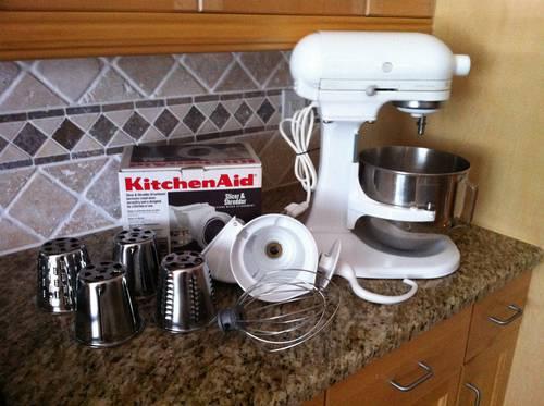 Kitchenaid Heavy Duty Stand Mixer 325 Watts W Slicer