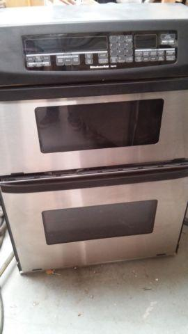 Kitchenaid Microwave Oven Combo Very Clean Reduced