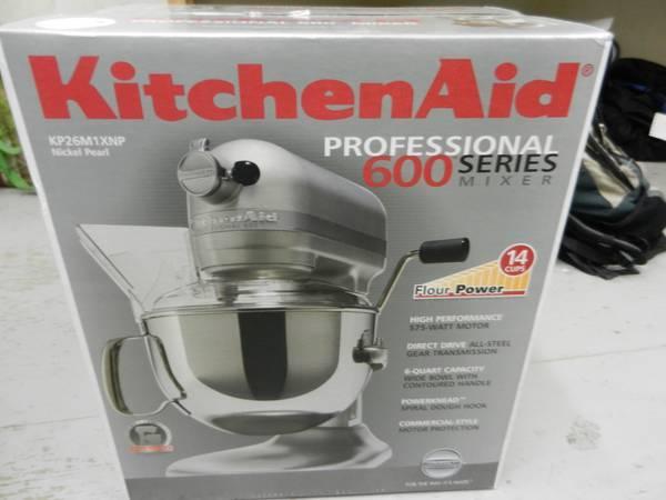 Kitchenaid Professional 600 Series Kp26m1xnp 6 Quart Stand