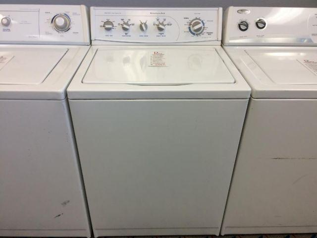 Kitchen Aid Washer Top Load