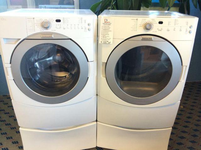 Contemporary Kitchenaid Superba Washing Machine Front Load Washer Dryer Set Pair Throughout Design Inspiration