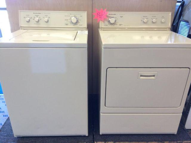 Kitchenaid Superba Washer Amp Dryer Set Pair Used For