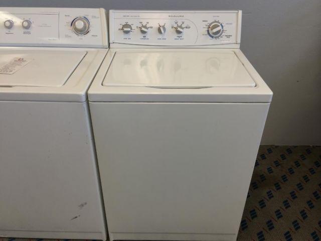 Kitchenaid Top Load Washing Machine Used