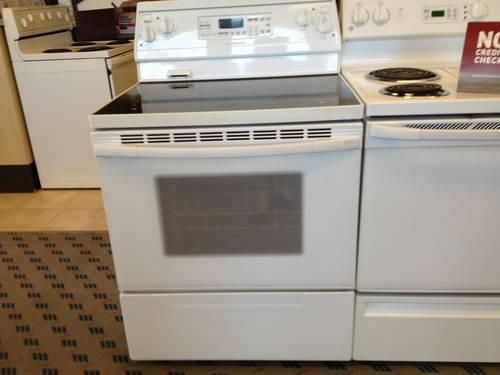 Electric Kitchen Stoves For Sale ~ Kitchenaid white electric range stove oven used for sale