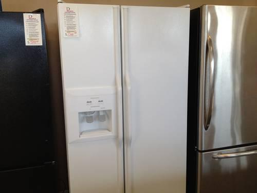 Kitchenaid White Side By Side Refrigerator Water Amp Ice In