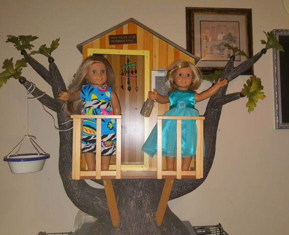 c7ff3a74abc Kits American girl doll tree house for Sale in Greenville