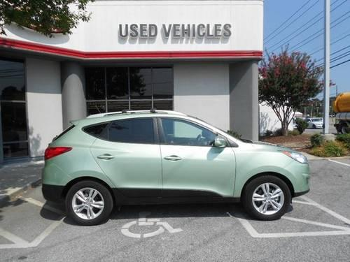 kiwi green 2012 hyundai tucson gls sport suv carfax we finance call for sale in greensboro. Black Bedroom Furniture Sets. Home Design Ideas