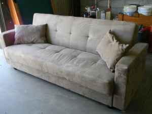 Klik Klak Futon Daybead Sofa And Microfiber Recliner