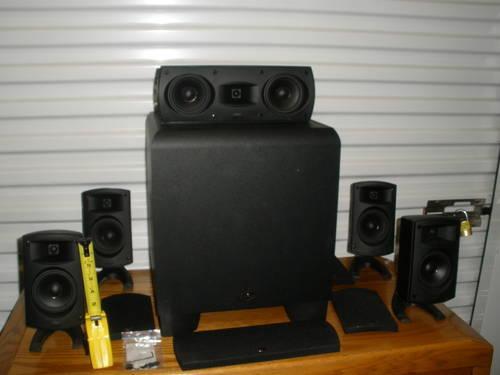 Klipsch Quintet Black 5 1 Surround Speaker System For Sale
