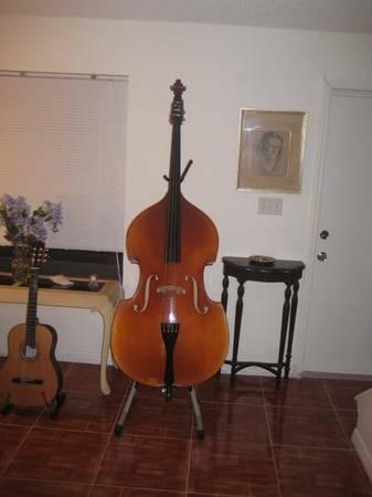 knilling bucharest 3 4 upright bass pickup and stand for sale in merrifield virginia. Black Bedroom Furniture Sets. Home Design Ideas