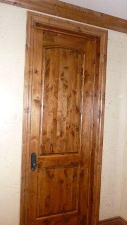 Knotty Alder Interior Door Cda For Sale In Spokane Washington Classified