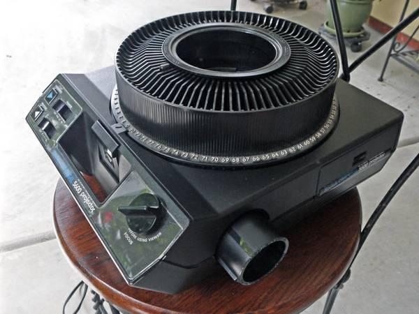 Kodak 5600 Slide Projector, 2 lenses and 5 slide trays - $75