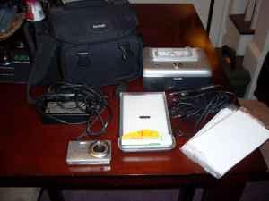 Kodak Easyshare camera and printer - $80 (Lansford)