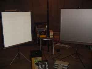Kodak Slide Projector, Slide Projector Table, Screens, Carousels Omaha
